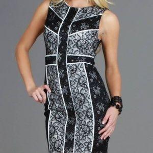 🔥 HOST PICK 🔥 Geometric Lace Bodycon Dress
